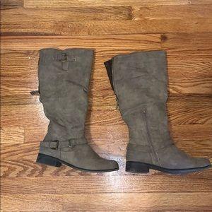 XOXO Knee Boots